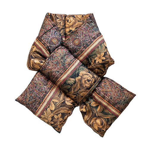 ALOEUW/SW-030X160IP - Floral and Fruit stuffed scarf