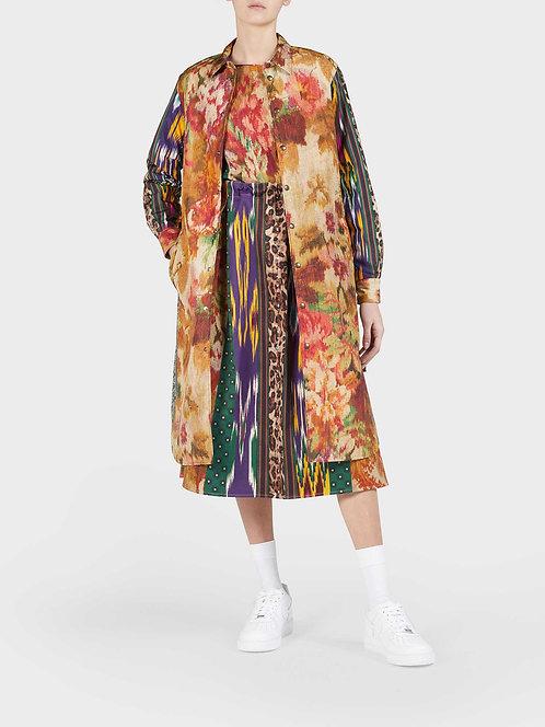 Reversible Windbreaker Long Jacket