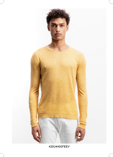 Dyed crewneck pullover