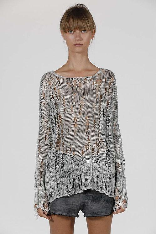 Shredded Sweater
