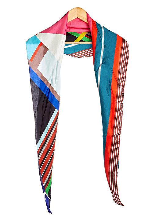 ALOEUW/SW-100X100RN - Diamond shape scarf