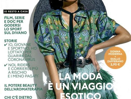 Pierre-Louis Mascia on Donna Moderna Magazine