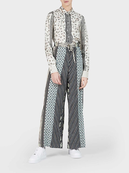 Palazzo Pant with Button and String