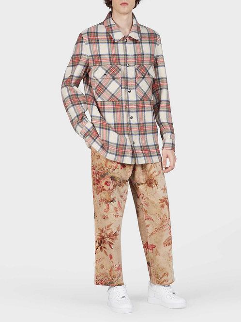 Reversible Wool Shirt Jacket