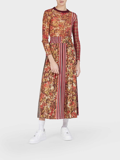 Plisset Skirt with String