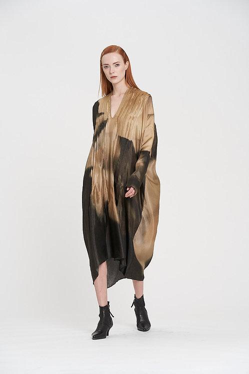 Floribunda Pin Tuck Dress