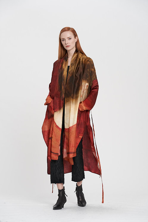 Red Head Robe
