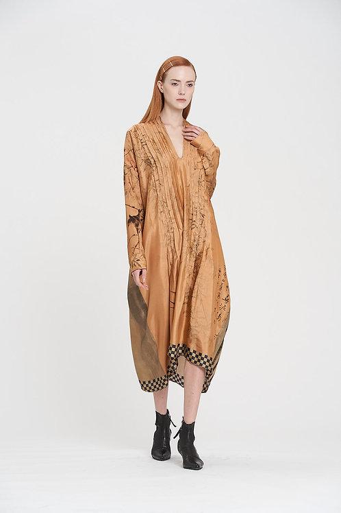 Dynasty Pin Tuck Dress