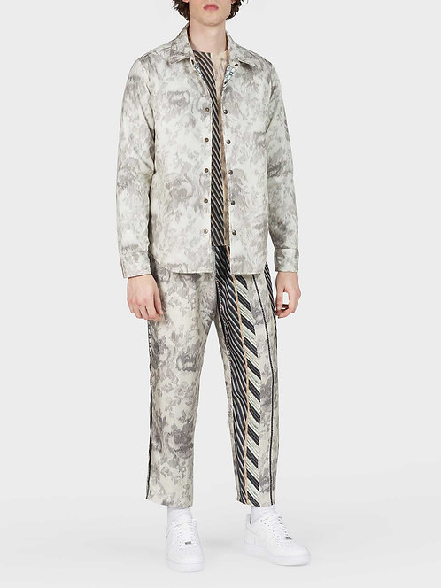 Reversible Windbreaker Shirt Jacket