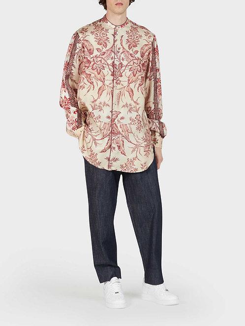 Mandarin Collar Tunic