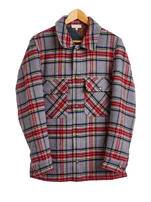 PANCAKE-CG10958 - Reversible Shirt Jacket