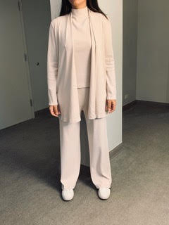 Mid-Length Cardigan with Pockets