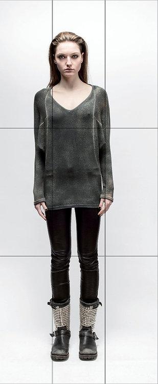 V neck light weight sweater