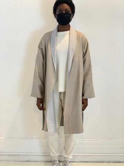 Cashmere Silk Coat