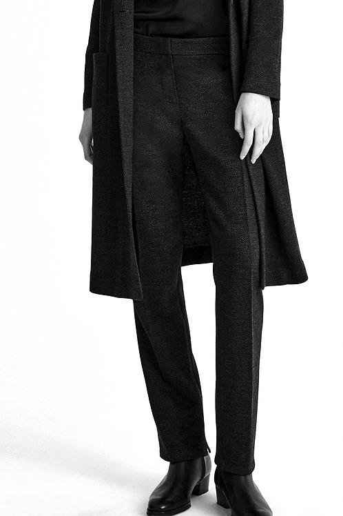 Herirngbone Knit Trouser
