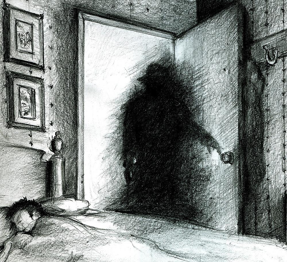 Dark Shadow Entity