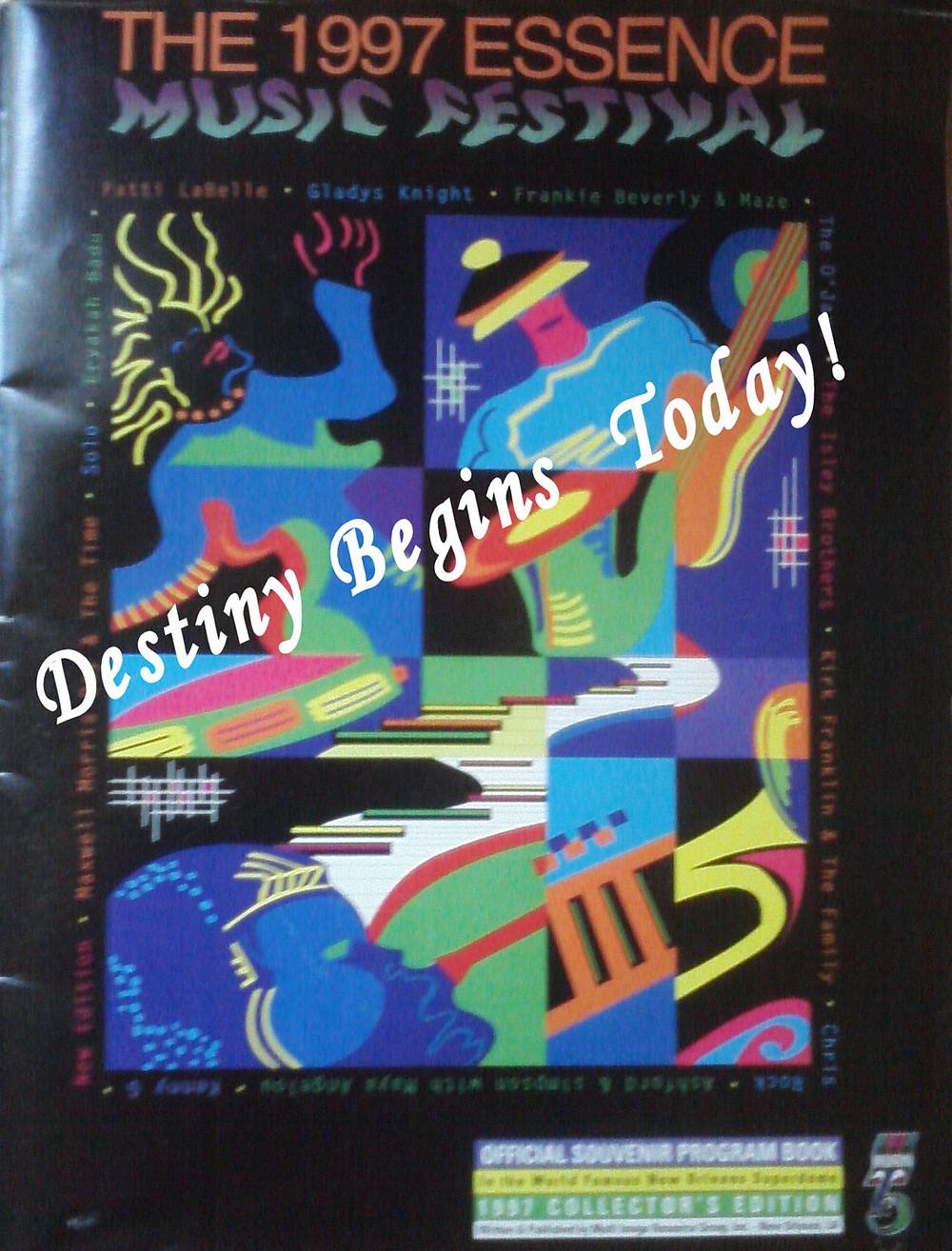 Tracy L. Darity Souvenir Program 1997 Essence Music Festival