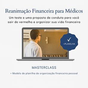 profissão médica reanimação financeira