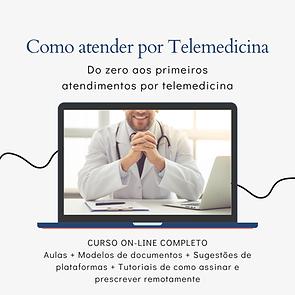 profissão médica como atender por teleme