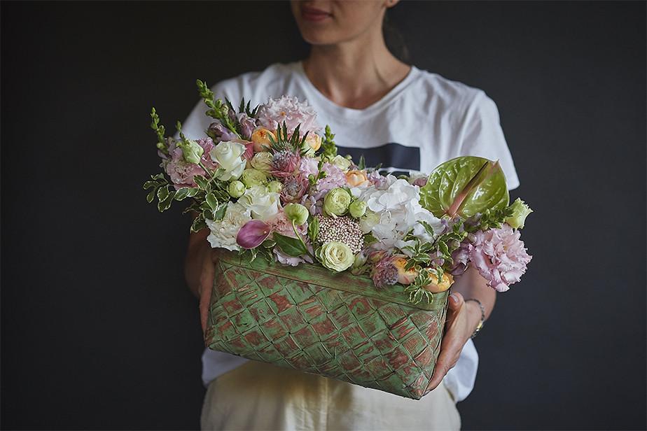 Imagen de arreglista floral