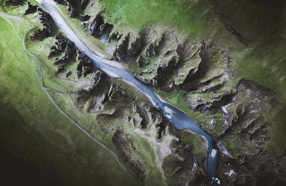 Fotografía aérea tomada por Norris Niima