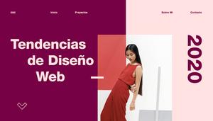 Principales tendencias de diseño web para 2020