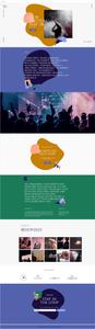 Plantilla de festival de música
