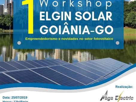 1° WORKSHOP ELGIN SOLAR GOIÂNIA-GO