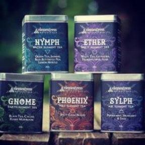 5 Elemental Tea flavors in one set