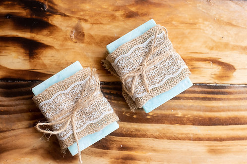 COCOA BUTTER INFUSED LAVENDER CHAMOMILE AND HONEY SOAP