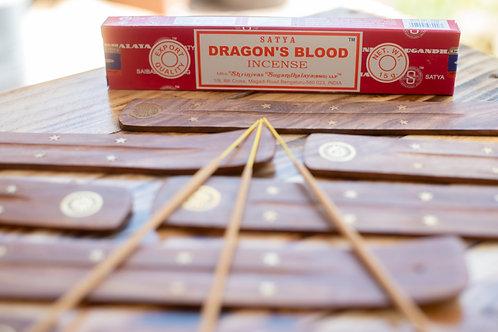 INCENSE STICKS 15 grams DRAGONS BLOOD