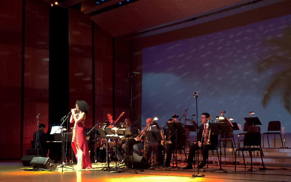 Raquel Cepeda   Houston Jazz Singer. Geologist. Photo by Lindy Pollard.