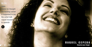 Raquel Cepeda | Houston Jazz Singer | Blog