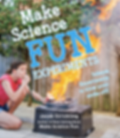 Make Science Fun Experiments book cover by Jacob Strickling