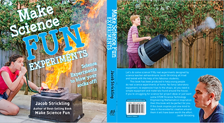 Make Science Fun Book Cover by Jacob Strickling