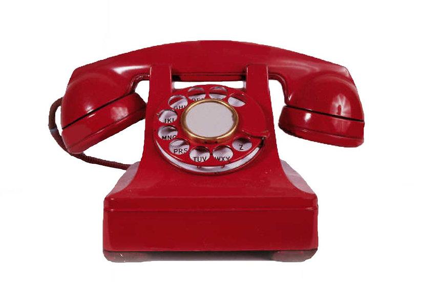60 minute Phone Call