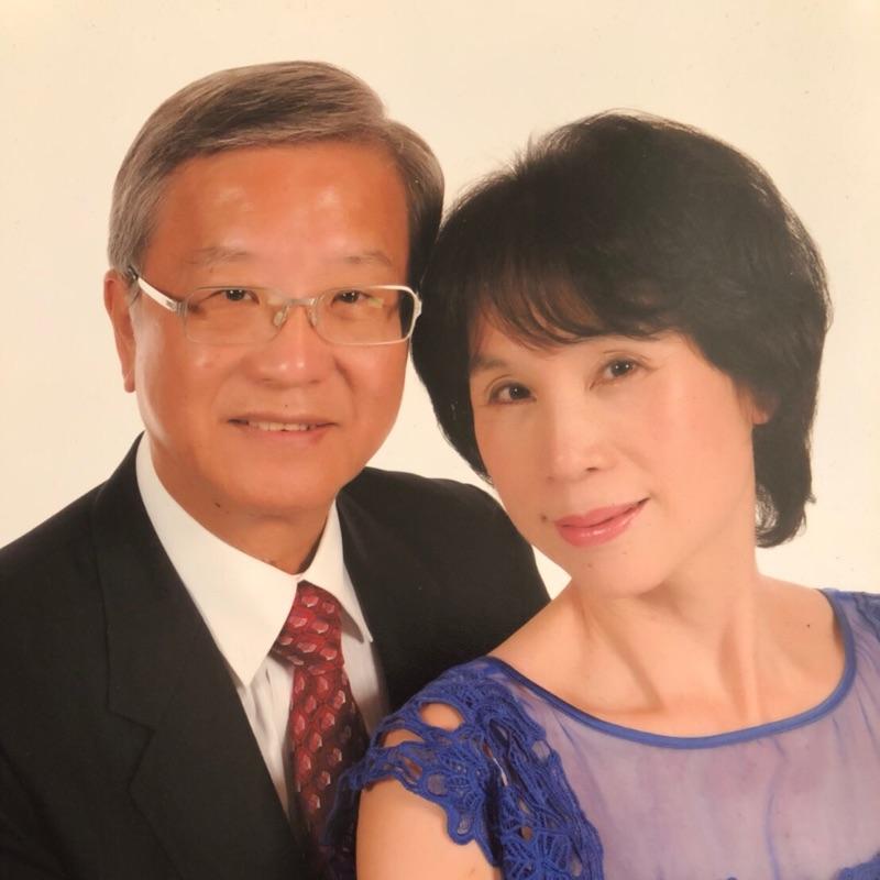 日新社社長王基全CC與夫人照片