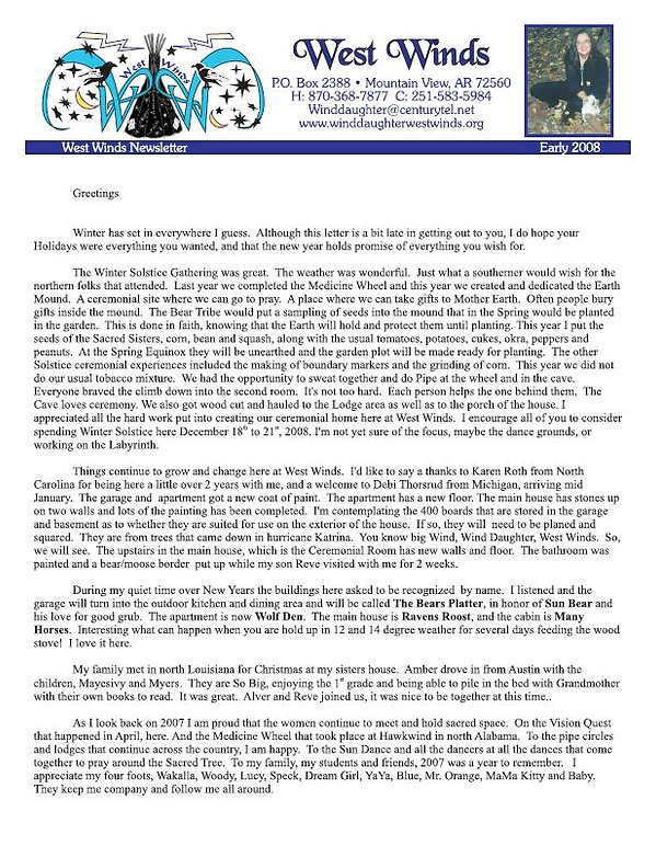 2008 Newsletter Early.JPG