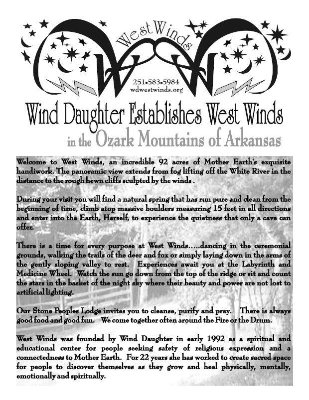 2006 Newsletter Home of West Winds Estab