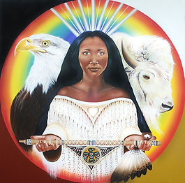 Buffalo Woman by Heavenly Earth Art.jpg