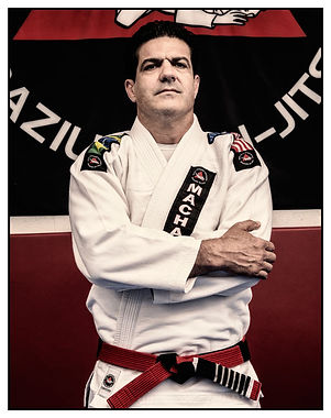 Jean Jacques Machado standing in his MACHADO Gi