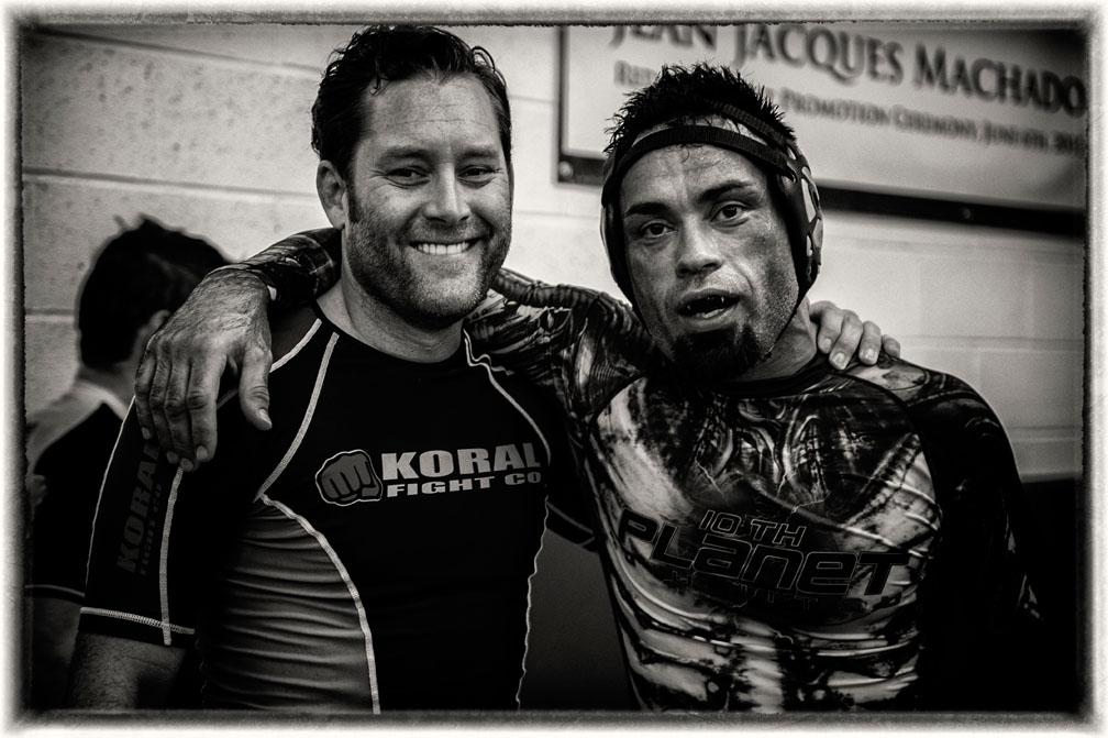 Machado Black Belts Todd White and Eddie Bravo