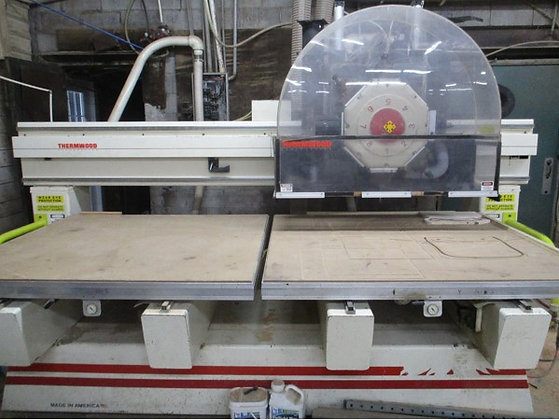 (Sold) Thermwood, C42 Twin Table CNC Router Used
