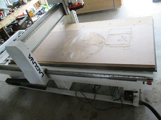 Laguna, SmartShop® II CNC Router, 4 x 8, 7.5hp, Used
