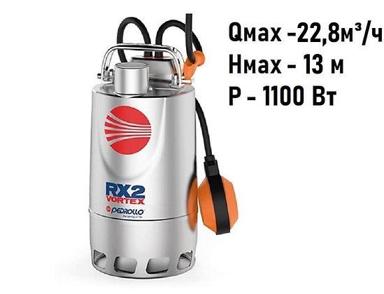 Pedrollo RXm 5/40 погружной дренажный насос для дренажа грязной воды