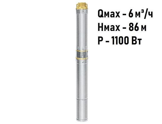 Скважинный погружной насос UNIPUMP ЕСО MINI 4-46 центробежный глубинный для скважины