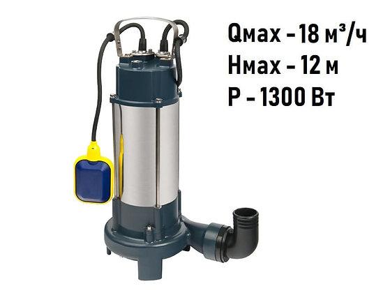 Насос фекальный FEKACUT V1300DF Unipump для грязной воды и канализации