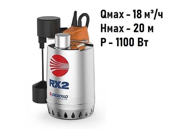 Pedrollo RXm 5-GM погружной дренажный насос для дренажа грязной воды