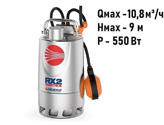 Pedrollo RXm 3/20 погружной дренажный насос для дренажа грязной воды