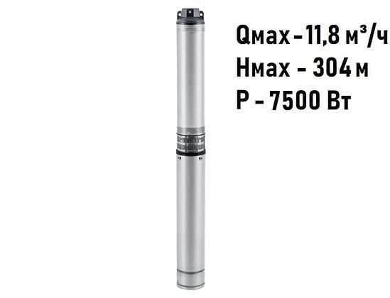 Скважинный погружной промушленный трехфазный насос Unipump ЭЦВ 5-7-225 для скважины